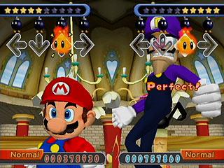 Samurai Nintendo Dance Dance Revolution Mario Mix Gamecube