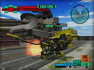 Samurai Nintendo : Zoids VS  II (GameCube)